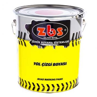 ZBS CHLORINE RUBBER ROAD LINE PAINT